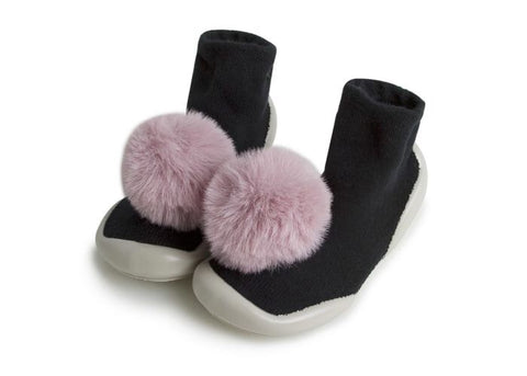 Collégien Slipper Socks with Pom Poms
