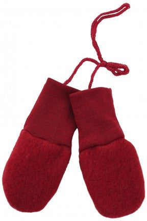 Engel 100% Organic Wool Fleece Baby Mittens