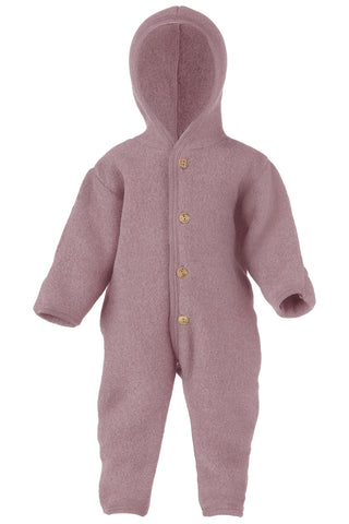 Engel Natur Organic Virgin Wool Hooded Overalls