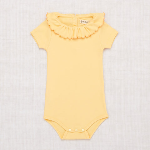 Misha & Puff Paloma Ribbed Cotton SS Onesie