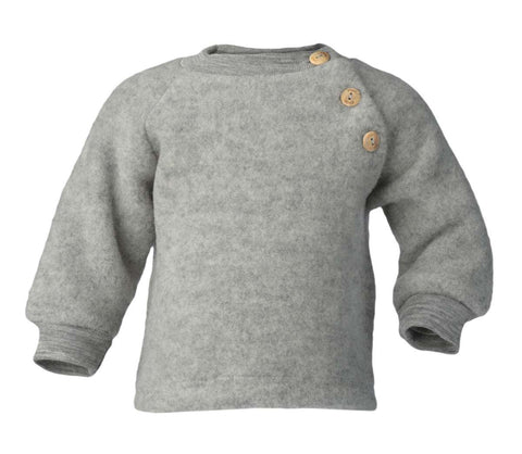 Engel Organic Wool Fleece Baby Sweater