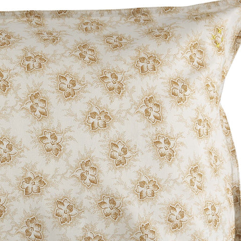Camomile London Spot Floral Standard Pillow Case