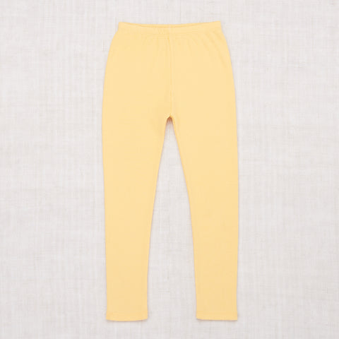 Misha & Puff Ribbed Cotton Leggings in Butter