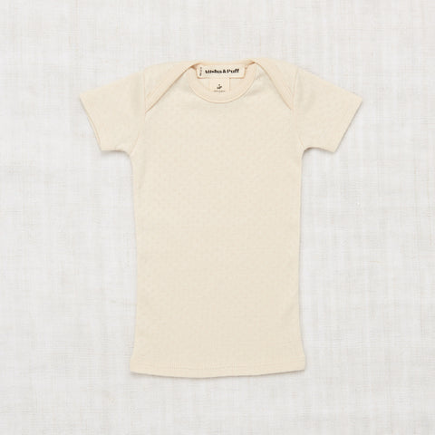 Misha & Puff Pointelle Lapped Tee