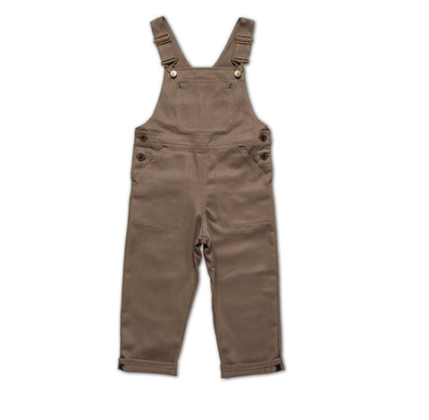 Monty and Co. Porter Dungaree Khaki
