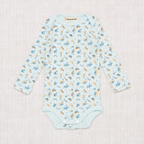 Misha and Puff layette lap onesie