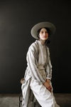 Odd Bird Sultan Handwoven Linen Adult Robe