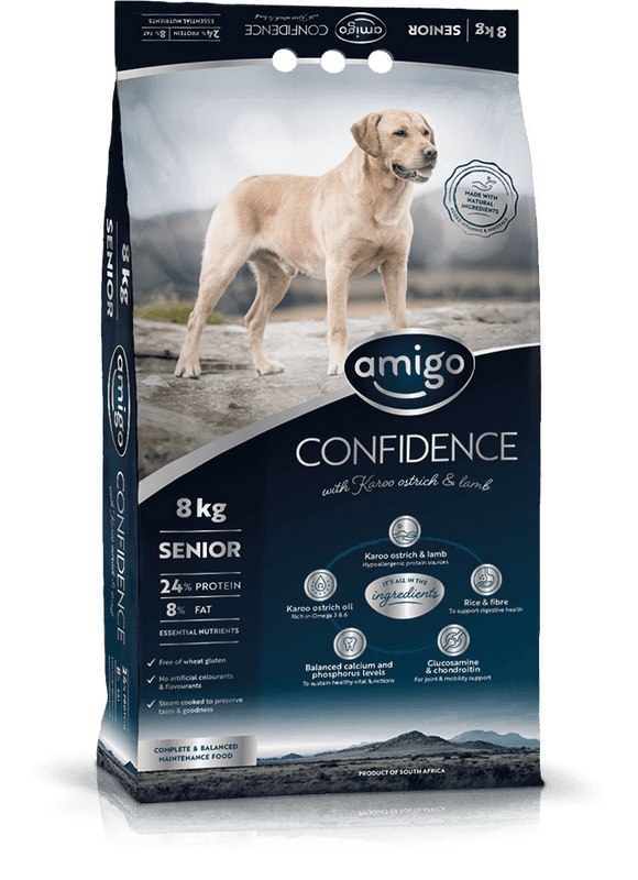 Amigo - CONFIDENCE Senior Dog Food 20kg