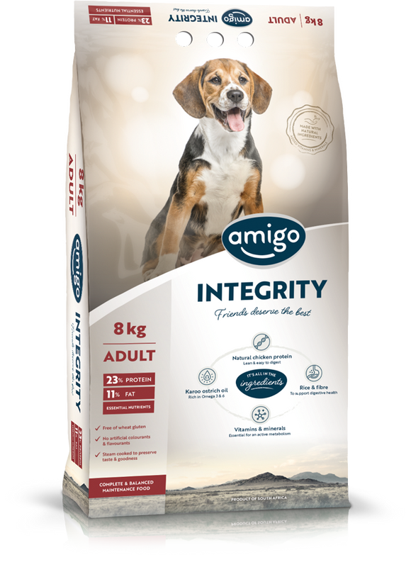 Amigo - INTEGRITY Adult Dog Food 20kg