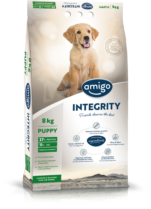 Amigo - INTEGRITY Puppy Dog Food 8kg