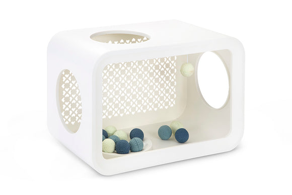 Beeztees Cat Cube Play - Angora White 2kg