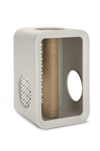 Beeztees Cat Cube Scratch - Dune Grey 2kg