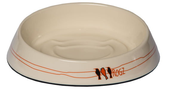 Rogz Catz Bowlz 200ml Fishcake Cat Bowl, Birds on a Wire Design