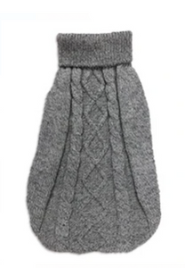 Diamond Knit Wool Pullover Dog Clothes