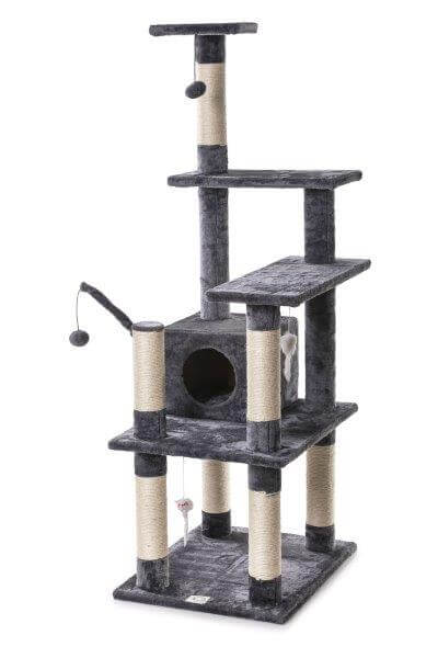 Cosmic Pets Stardust Cat Tree - Grey