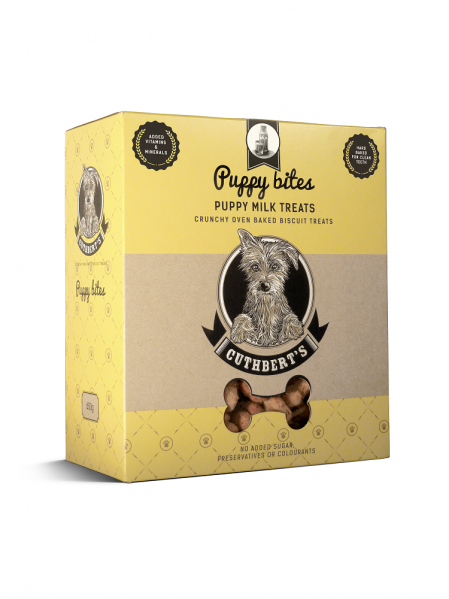 Cuthbert's Dog Biscuits -Puppy Milk Biscuits ( Puppy Bites ) 650g