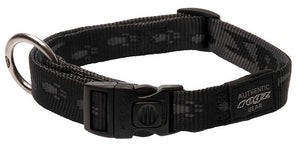Rogz Alpinist Large 20mm K2 Dog Collar, Black Rogz Design