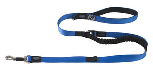Rogz Utility Extra Large 25mm Lumberjack Long Control Lead, Blue Reflective