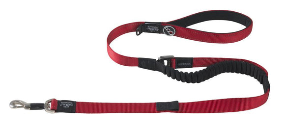 Rogz Utility Extra Large 25mm Lumberjack Long Control Lead, Red Reflective