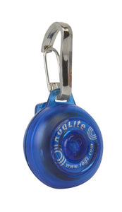 Rogz ID Tagz Large 31mm Roglite, Blue Light