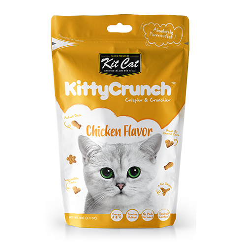 Kit Cat KittyCrunch - Chicken Flavour