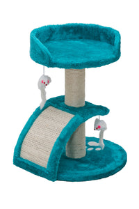 Cosmic Pets Pluto Cat Tree - Turquoise