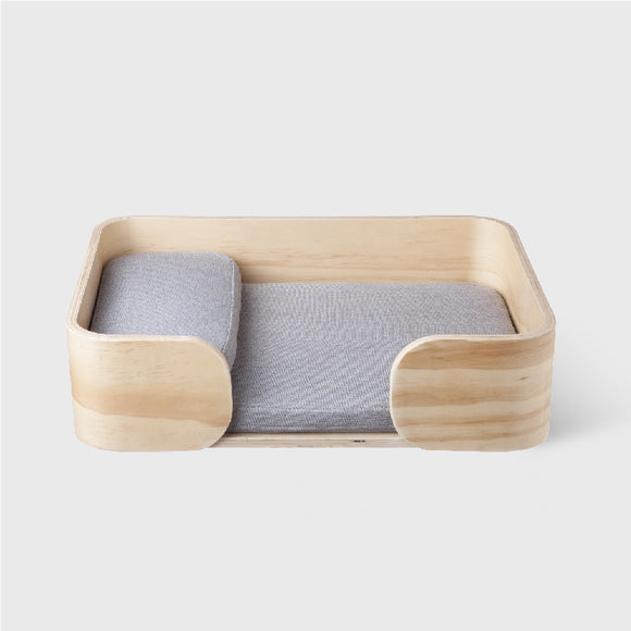 Pidan - Rectangle Wooden Pet Bed