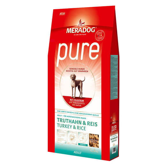 Meradog PURE Turkey and Rice – Adult Gluten-Free