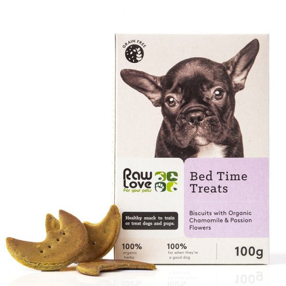 Raw Love Pets Bed Time Treats for Dogs 100g