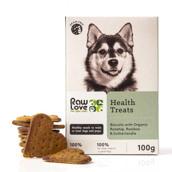 Raw Love Pets Health Treats for Dogs 100g