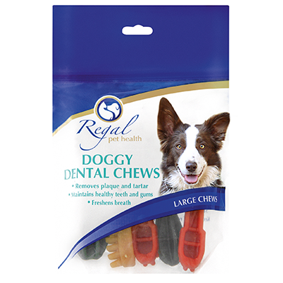 Regal Doggy Dental Chews - Large