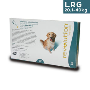Revolution Spot On Parasite Treatment for Dogs 20.2kg - 40kg (Green) - Pack of Three