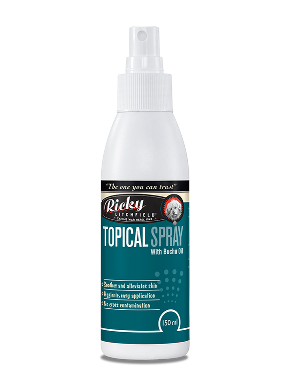 Ricky Litchfield - Topical Skin Spray for Dogs (150ml)