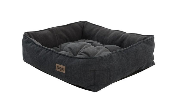 Rogz - Lapz Moon Podz Lap Dog Beds - Black - Small