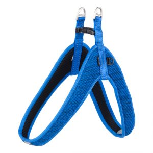 Rogz - Utility Fit-Fast Harness for Dogs - Blue XXS