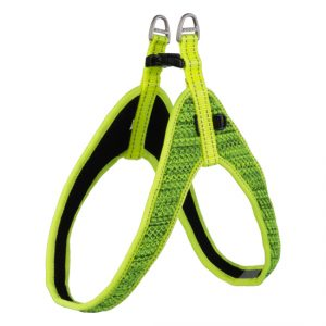 Rogz - Utility Fit-Fast Harness for Dogs - DayGlow M/L