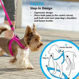 Rogz - Utility Fit-Fast Harness for Dogs - Black S/M