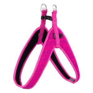 Rogz - Utility Fit-Fast Harness for Dogs - Pink M/L