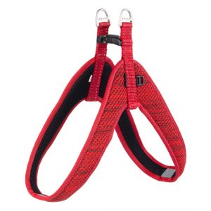Rogz - Utility Fit-Fast Harness for Dogs - Red  XXS