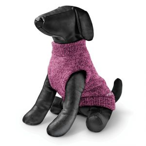 Rogz - Wolfskin Sweater for Dogs - Pink 20cm