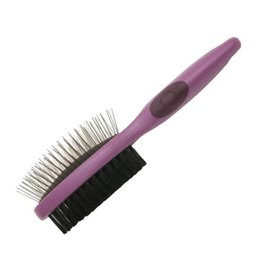 Rosewood - Salon Grooming Double Sided Brush Small