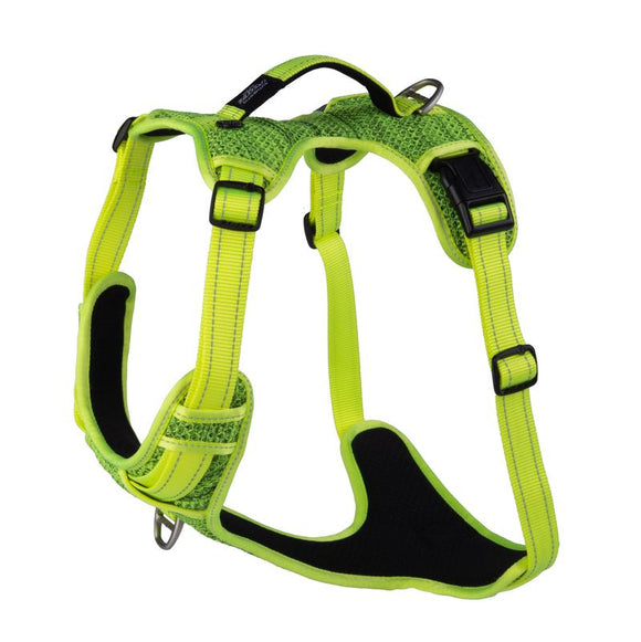ROGZ Utility Extra Large Lumberjack Explore Harness, Yellow Reflective