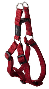 Rogz Utility Extra Large 25mm Lumberjack Step-in Dog Harness, Red Reflective