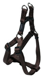 Rogz Utility Extra Large 25mm Lumberjack Step-in Dog Harness, Chocolate Reflective