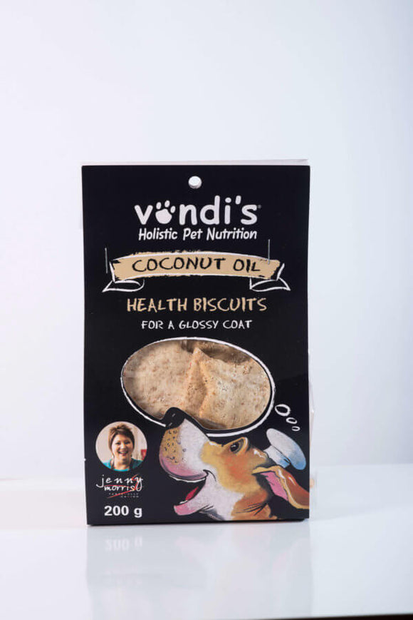 Vondis - Jenny Morris Coconut Oil Biscuits 200g