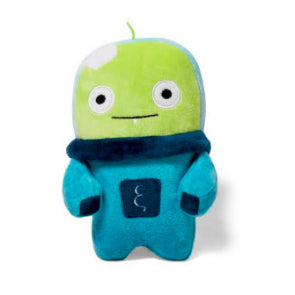 Alien Flex Bubu Plush Dog Toy