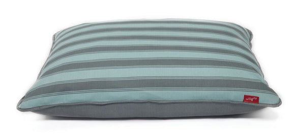 Wagworld Interior Futon Dog Bed - Large - Blue Stripe
