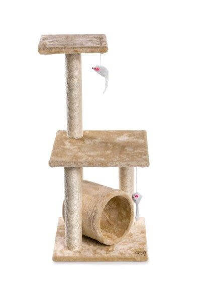 Cosmic Pets Solar Flare Cat Tree - Beige