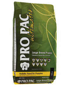 PRO PAC® Ultimates™ – Large Breed Puppy Chicken & Brown Rice 12kg