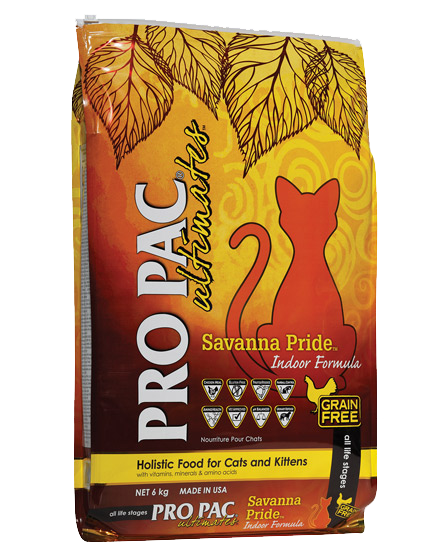 PRO PAC® Ultimates™ Savanna Pride™ Chicken & Peas 2kg